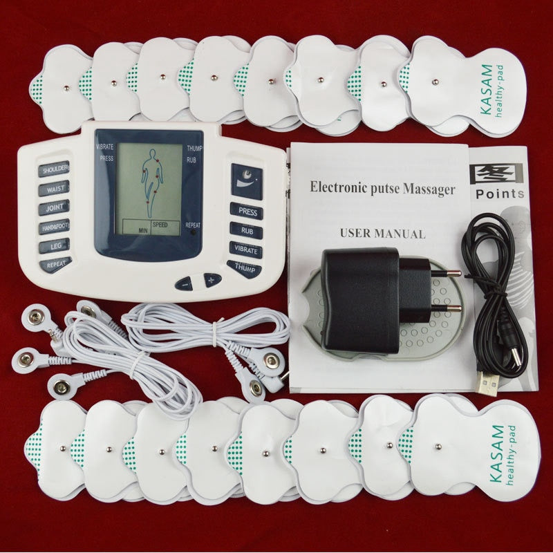 Tlinna  New Healthy Care Full Body Tens Acupuncture Electric Therapy Massager Meridian Physiotherapy Massager Apparatus Massager
