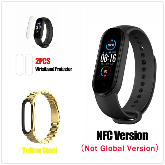 Xiaomi MI BAND 5 Global Version Miband 5 Wristband Sport Smart Bracelet Watches NFC Waterproof Health Activity Tracker Men Women