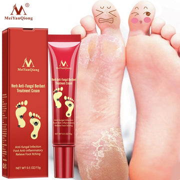 Foot Care Cream Foot spa Pedicure Herbal Detox Anti Fungal Infection Onychomycosis Fungus Treatment   For legs