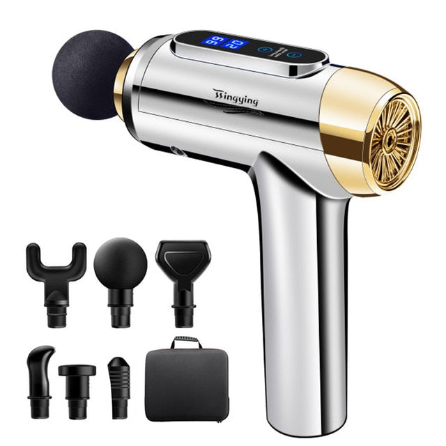Massage Gun Muscle Relaxation Massager Electric massager Fascial Gun Fitness Equipment Noise Reduction Design For Male Female