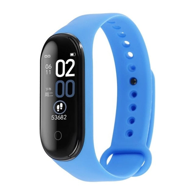 M4 Smart Band Wristband Blood Pressure Heart Rate Monitor Pedometer Sports Bracelets Health Fitness Bracelet Tracker Smart Watch