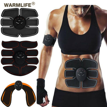 EMS Wireless Muscle Stimulator Trainer Smart Workout Abdominal Training Electric Slimming Stickers Body Slimming Massager
