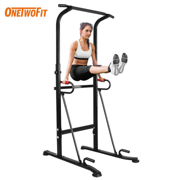 Onetwofit Indoor Pull Up Bar Home Gym Equipment Horizontal Bar Sport Equip Fitness Equipment Workout Pull Up Station Power Tower