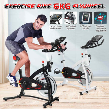 Exercise Bike Cardio Cycling Home Ultra-quiet Indoor Cycling Weight Loss Machine Training Bicycle Fitness Equipment ES Dropship