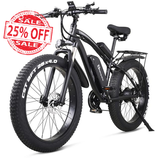 Shengmilo Electric Bike 1000W Mens Mountain Bike Snow Bike Electric Bicycle  Ebike 48V17Ah Electric Bicycle 4.0 Fat Tire e bike
