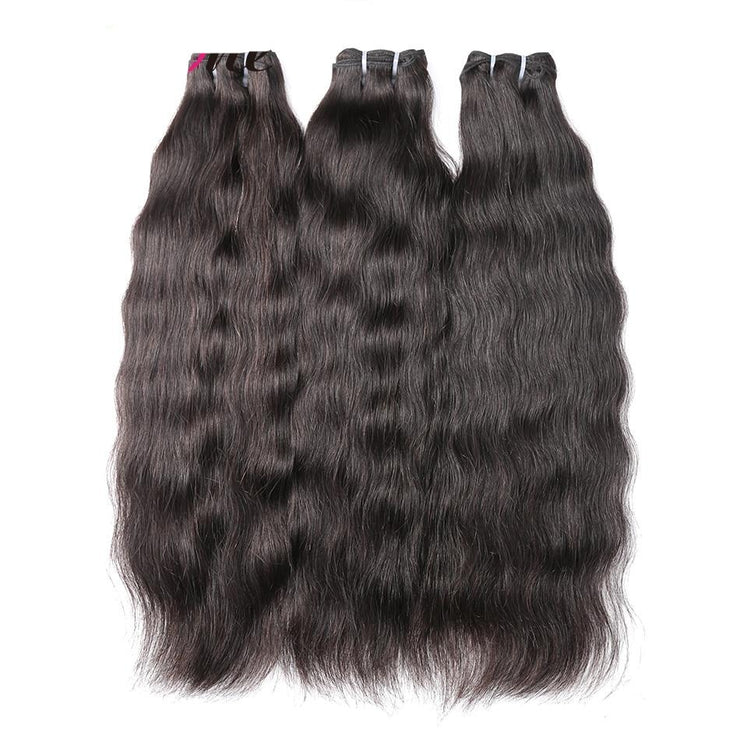 Virgin Wavy Hair Extensions - Hella Gorgeous Co.
