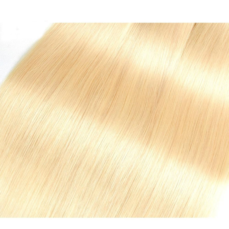 HD Lace Closure Blonde Weave - Hella Gorgeous Co.