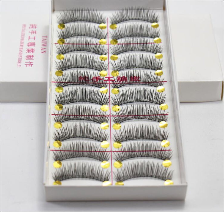 Natural Thick Long Eye Lashes - Hella Gorgeous Co.