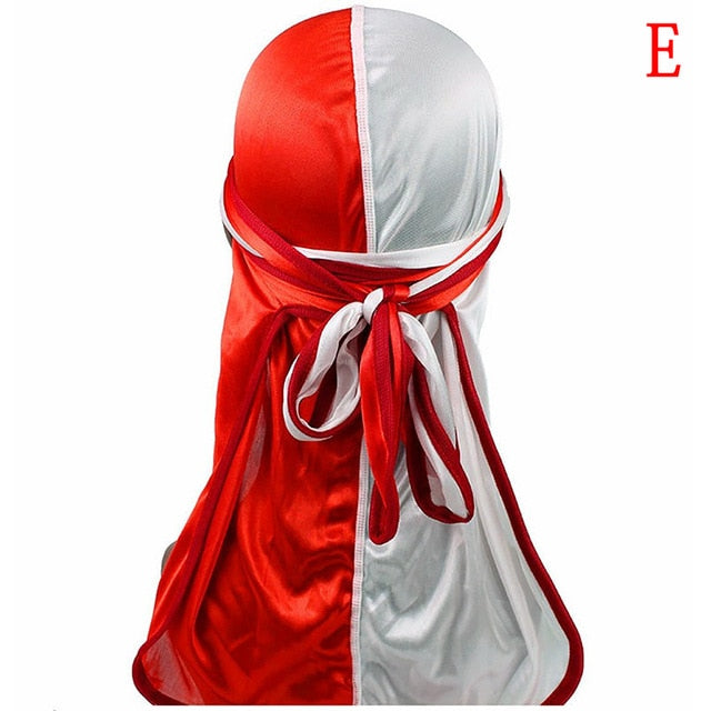 Soft Silky Two-Tone Durag - Hella Gorgeous Co.