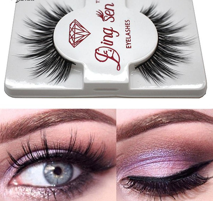 Mink Hair False Eyelashes - Hella Gorgeous Co.