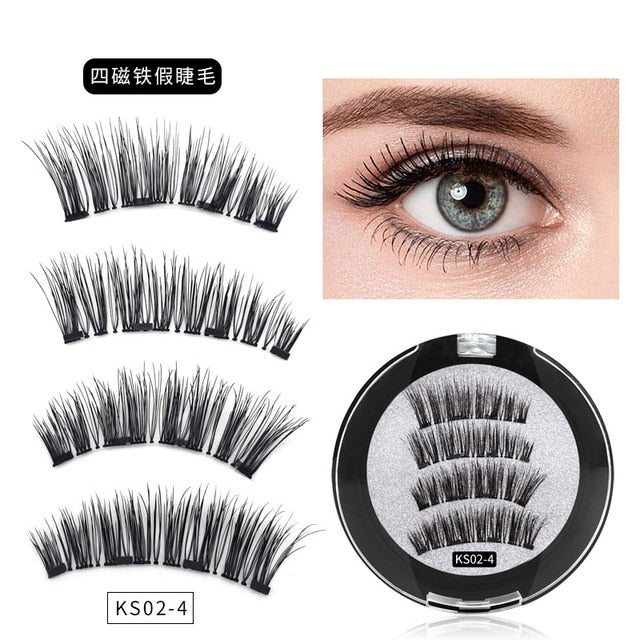 Hand-Made 3D Magnetic Lashes - Hella Gorgeous Co.