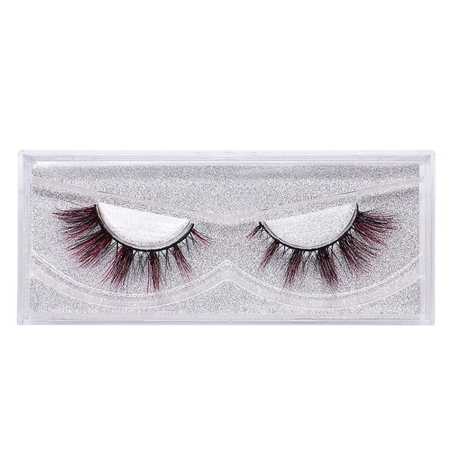 9D Mink Color False Eyelashes - Hella Gorgeous Co.