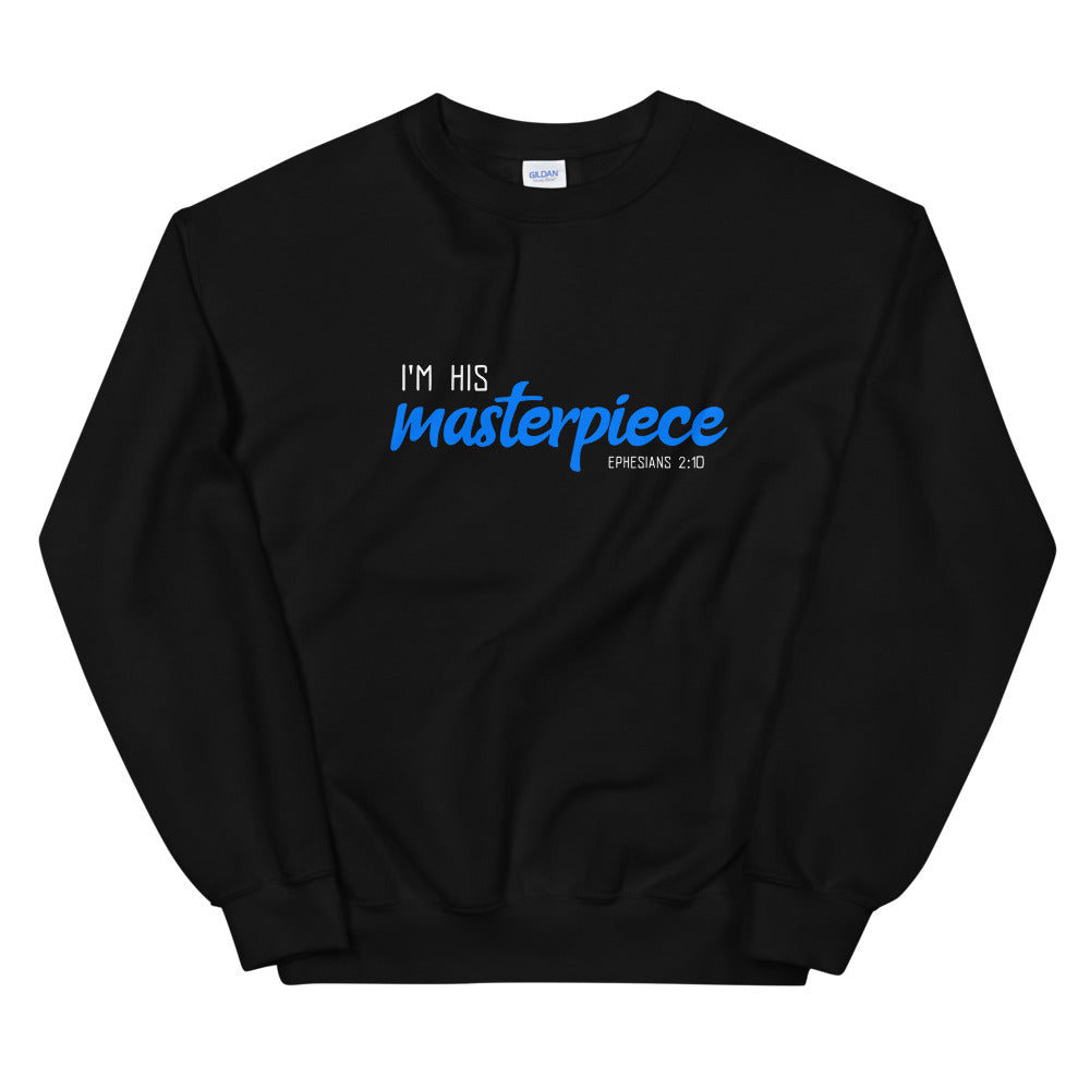 Christian sweatshirt | I am His masterpice | Unisex Sweatshirt | Bible verse shirt | Christian gift
