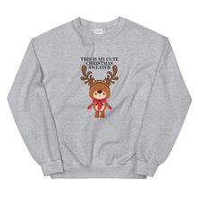 Load image into Gallery viewer, Cute Christmas sweatshirt