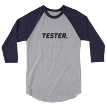 Load image into Gallery viewer, Special edition- TESTER stylish spin on the classic baseball raglan