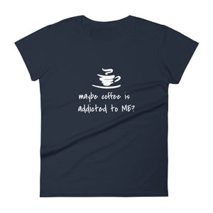 Women's short sleeve t-shirt Coffee