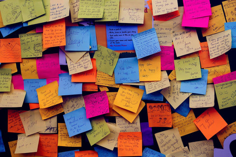 Paperless office post it war
