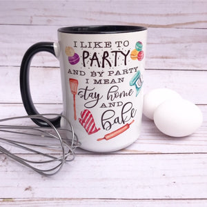 I Like to Bake - Mug