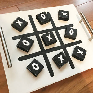 Tic Tac Toe tray.