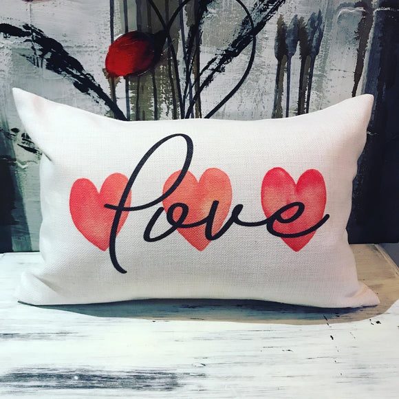 Double sided Valentine's and Easter pillow
