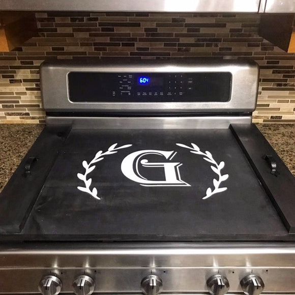 Single Monogram - Stove Top Covers