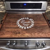Family Name - Stove Top Covers