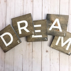 DREAM - Scrabble Tiles