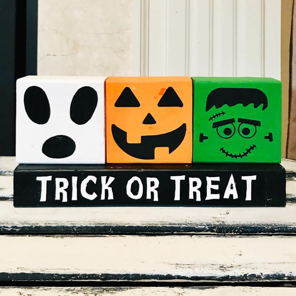 Trick or Treat Decor Trio