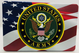 American Flag Color Waving /U.S. Army