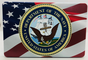 American Flag Color Waving /U.S. Navy
