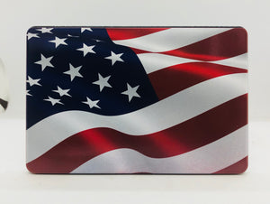 American Flag Color Waving