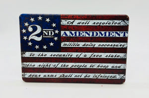 2nd Amendment Flag UV