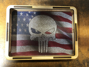EDC Pocket Dump Tray American Flag Punisher