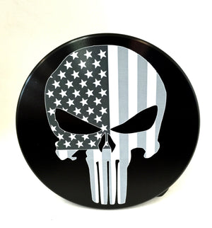 Punisher with American Flag