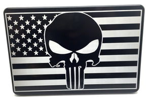 American Flag with Punisher
