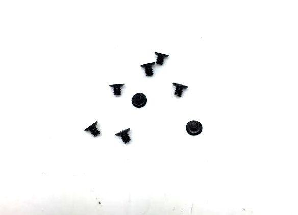 Black replacement screw kit