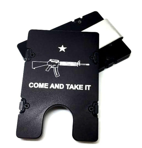 COME AND TAKE IT AR15 EDC Wallet