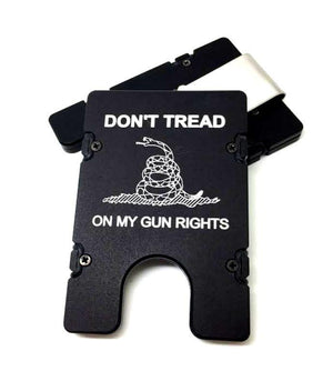 DON'T TREAD ON MY GUN RIGHTS BilletVault EDC Wallet