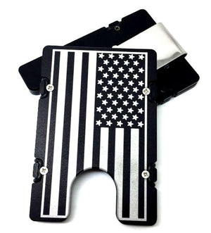 Large American Flag BilletVault EDC Wallet