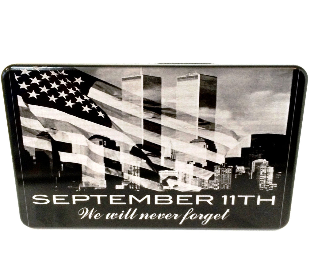 Never forget with Flag and Skyline