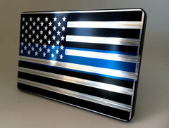 Blue Stripe with American Flag
