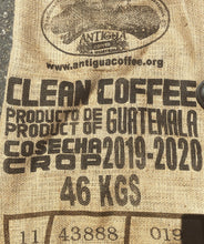 Load image into Gallery viewer, Clean Coffee Product of Guatemala Cosecha Crop 2019-2020