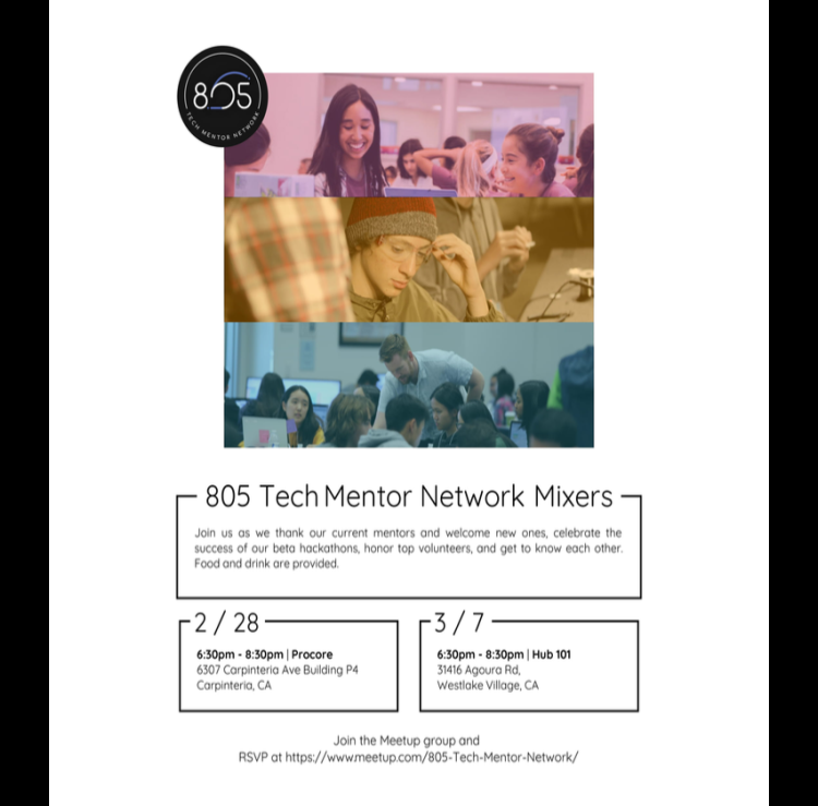 805 Tech Mentor Flyer