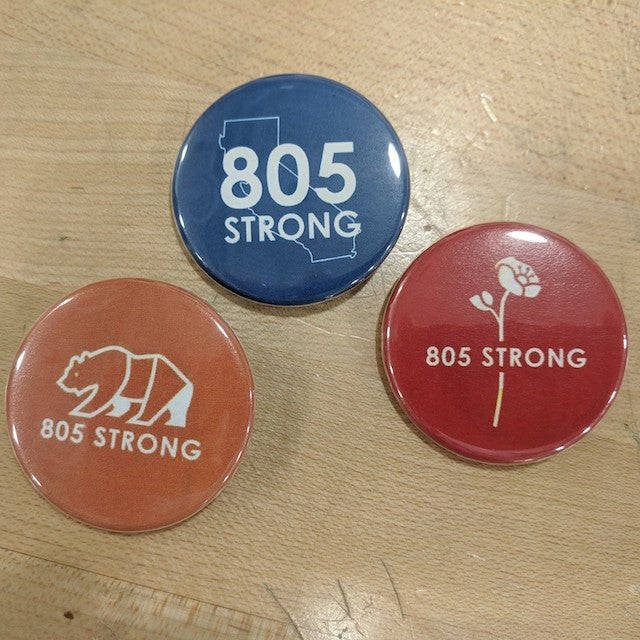 805 Strong Buttons
