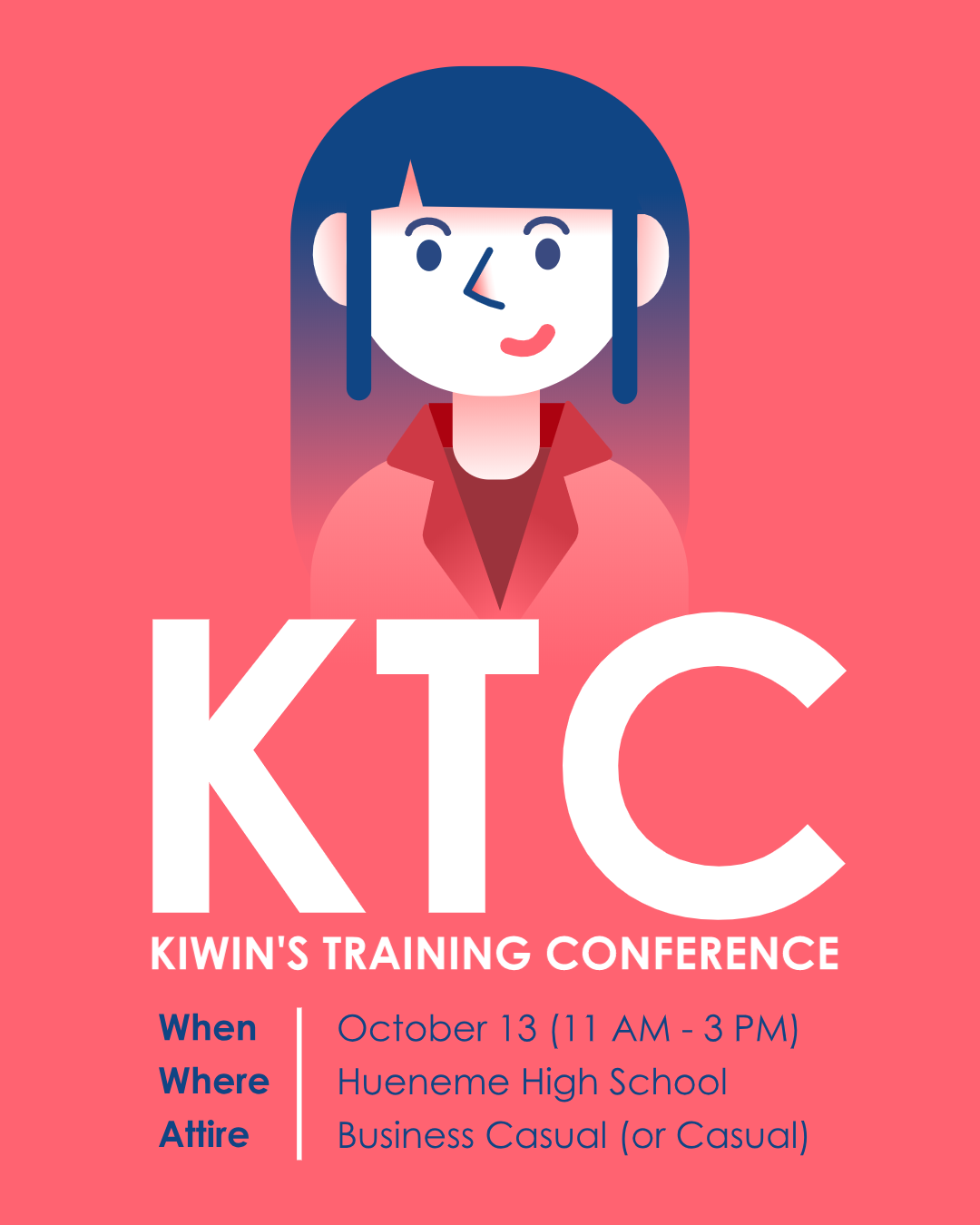 Kiwins Training Conference Flyer