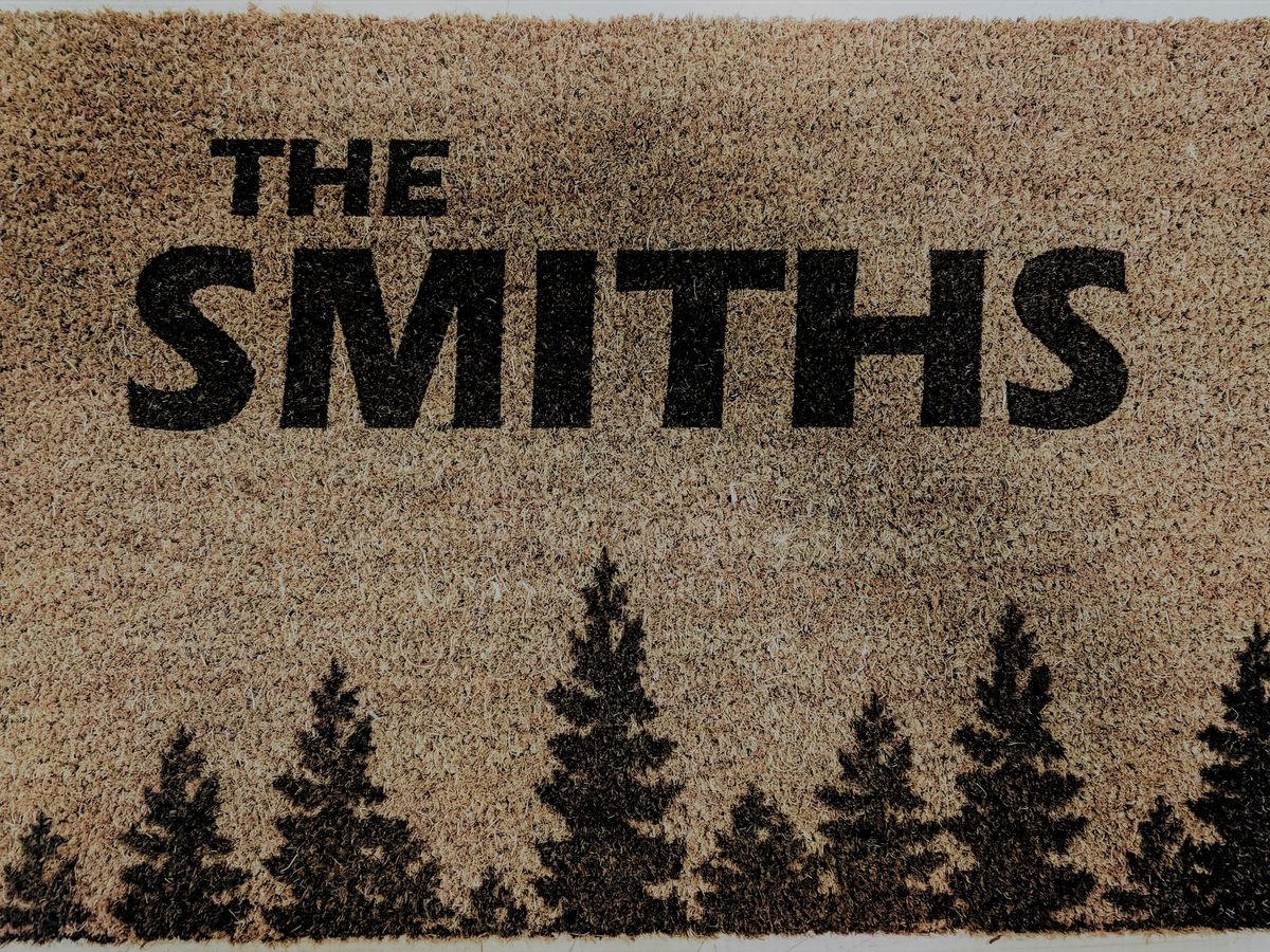 Laser engraved doormats