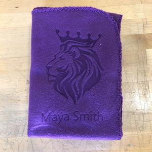Custom Fleece Throw