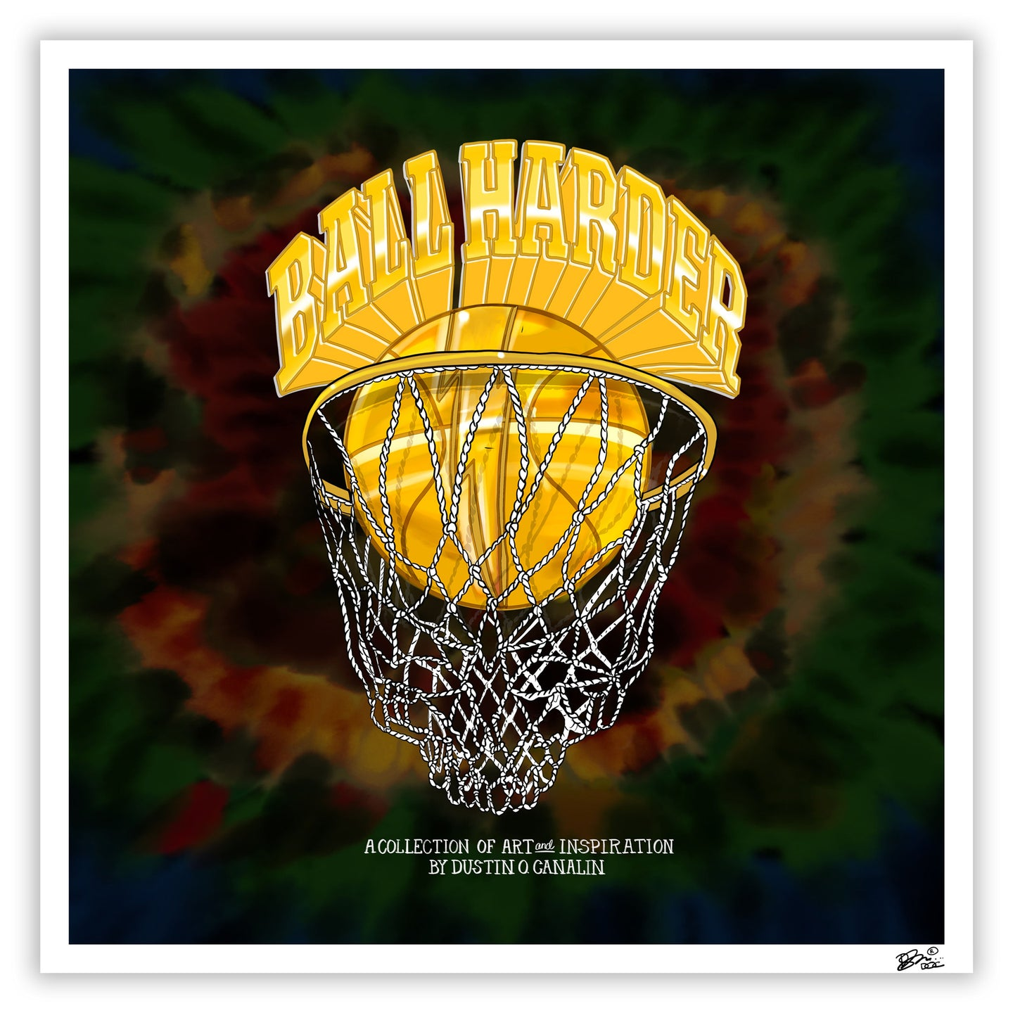 BALL HARDER VOL. 2  GALLERY EVENT PRINT