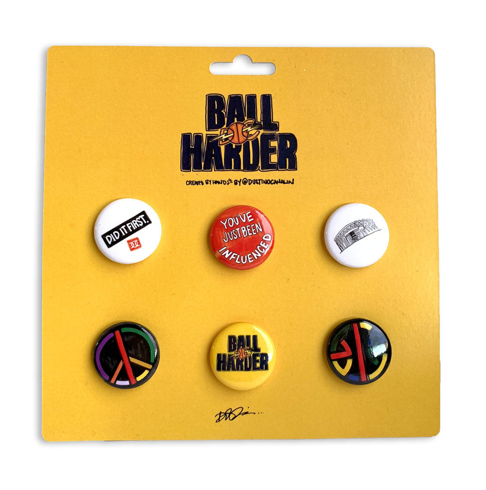 Ball Harder Pins