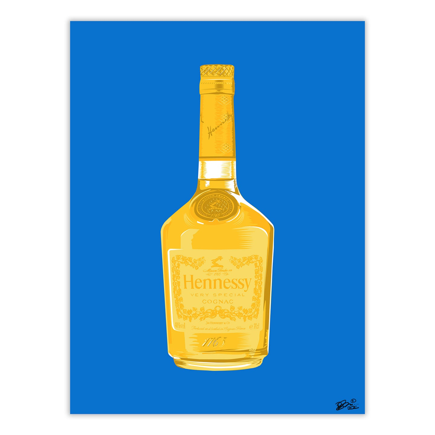 HENNY THING IS POSSIBLE PRINT